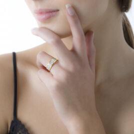 Bague Morjana Or Jaune Oxyde De Zirconium - Bagues avec pierre Femme | Histoire d'Or