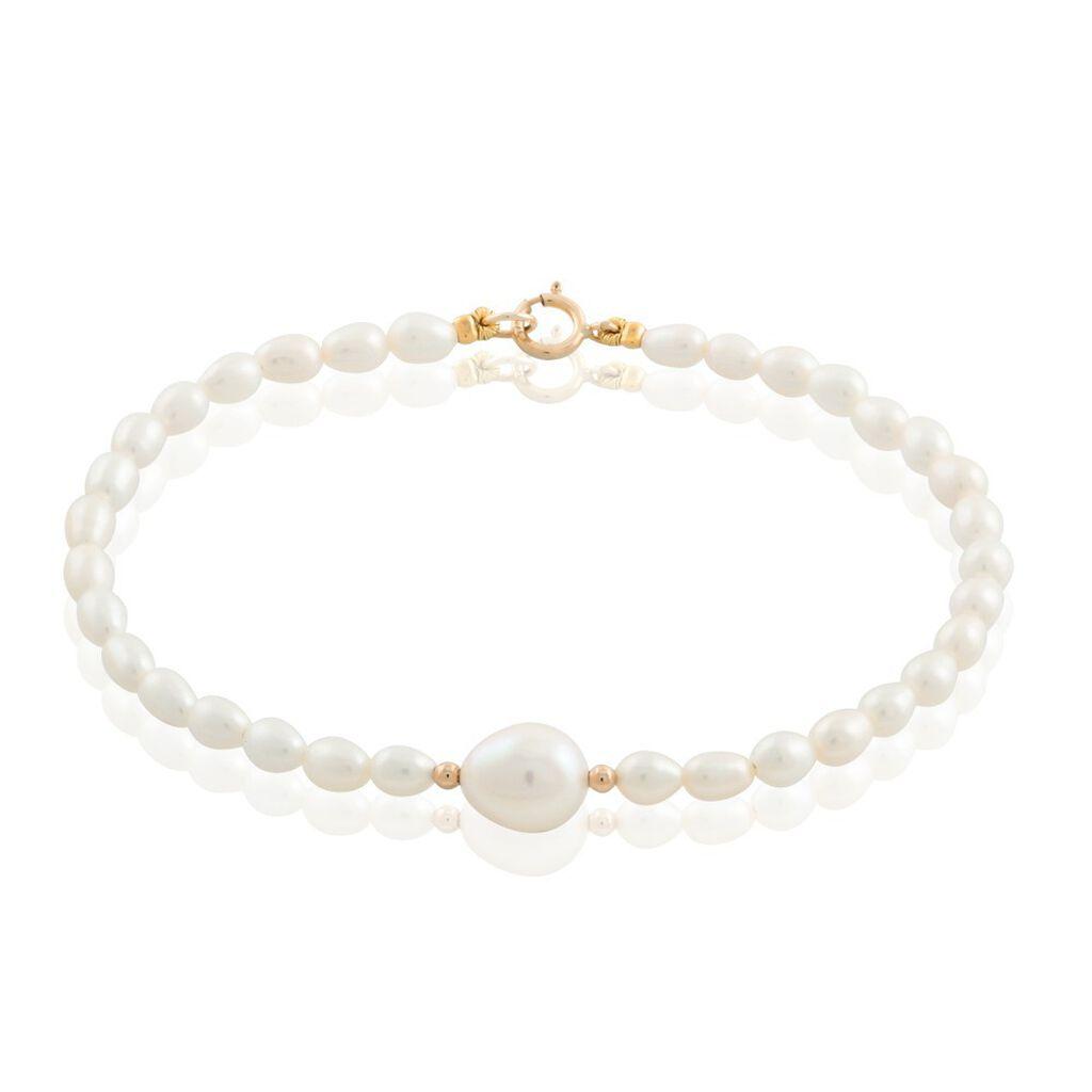 Bracelet Akil Or Jaune Perle De Culture - Bijoux Femme | Histoire d'Or
