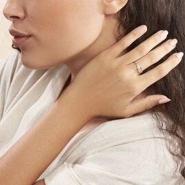 Bague Cyranna Or Blanc Diamant - Bagues avec pierre Femme | Histoire d'Or