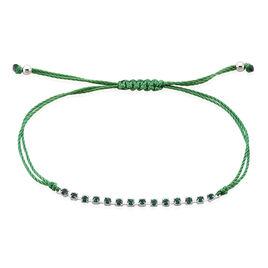Bracelet Loinaae Argent Blanc Oxyde De Zirconium - Bracelets cordon Femme | Histoire d'Or