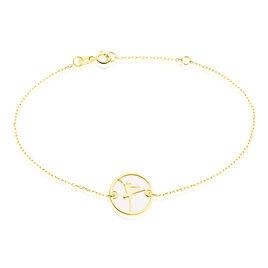 Bracelet Or Jaune Nacre - Bijoux Femme   Histoire d'Or