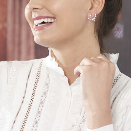 Bijoux D'oreilles Argent Rhodie Mahely - Ear cuffs Femme   Histoire d'Or