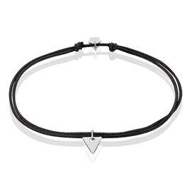 Bracelet Trilia Argent Blanc - Bracelets cordon Femme | Histoire d'Or