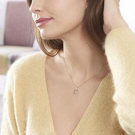 Collier Eloisia Or Bicolore Diamant - Bijoux Femme | Histoire d'Or