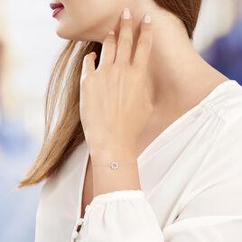 Bracelet Nostra Argent Blanc Oxyde De Zirconium - Bracelets fantaisie Femme   Histoire d'Or