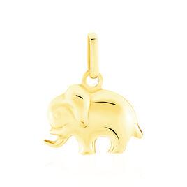 Pendentif Haiza Elephant Or Jaune - Pendentifs Unisexe | Histoire d'Or