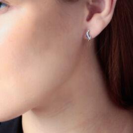 Boucles D'oreilles Puces Hue Or Jaune Diamant - Boucles d'oreilles pendantes Femme | Histoire d'Or