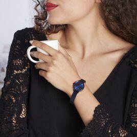 Montre Lannier Pierre Nova Acier Bleu - Montres Femme   Histoire d'Or