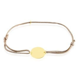 Bracelet Collection Gravable Or Jaune - Bracelets cordon Femme | Histoire d'Or