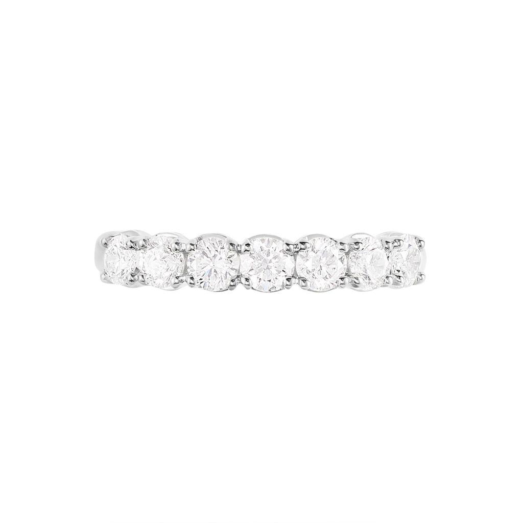 Alliance Eloise Or Blanc Diamant - Alliances Femme | Histoire d'Or