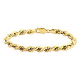 Bracelet Jerry Maille Corde Et Venitienne Or Bicolore - Bracelets chaîne Femme   Histoire d'Or