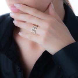 Bague Marylou Or Jaune Diamant - Bagues avec pierre Femme | Histoire d'Or