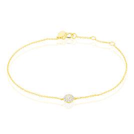 Bracelet Adelisa Or Jaune Diamant - Bijoux Femme | Histoire d'Or