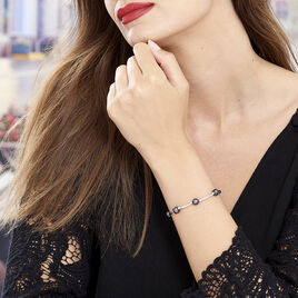 Bracelet Potatoes Argent Blanc Perle De Culture - Bracelets fantaisie Femme | Histoire d'Or