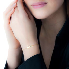 Bracelet Delfina Or Jaune Diamant - Bijoux Femme | Histoire d'Or