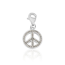 Charms Argent Et Strass  - Charms Femme | Histoire d'Or