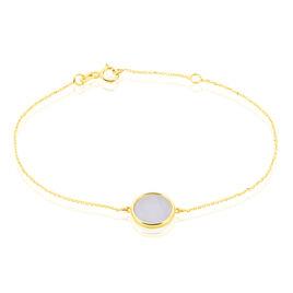 Bracelet Cemre Or Jaune Agate - Bijoux Femme | Histoire d'Or