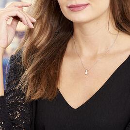 Collier Las Vegas Argent Blanc Oxyde De Zirconium - Colliers fantaisie Femme | Histoire d'Or