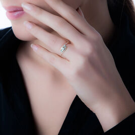 Bague Chloe Or Jaune Rubis Et Diamant - Bagues solitaires Femme   Histoire d'Or
