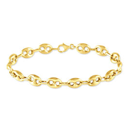 Bracelet Dami Maille Grain De Cafe Or Jaune - Bracelets chaîne Homme | Histoire d'Or