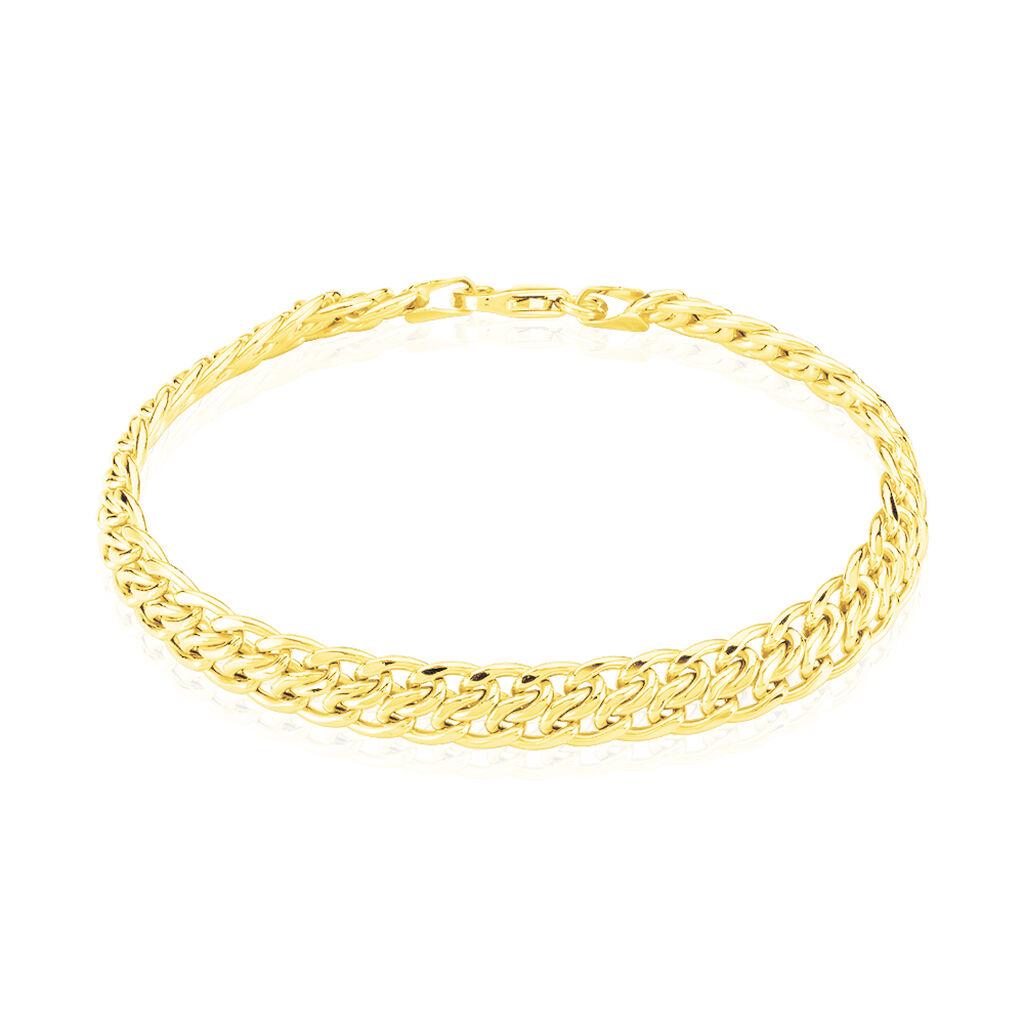 Bracelet Joline Maille Russe Or Jaune - Bracelets chaîne Femme | Histoire d'Or