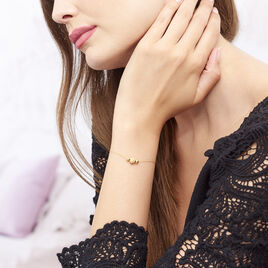 Bracelet Andrienne Or Jaune - Bijoux Femme   Histoire d'Or