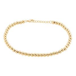 Bracelet Wafah Plaque Or Jaune - Bracelets fantaisie Femme | Histoire d'Or