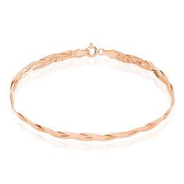 Bracelet Anaisaae Tresse Or Rose - Bracelets chaîne Femme | Histoire d'Or