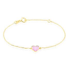 Bracelet Theosie Coeur Or Jaune - Bracelets Coeur Enfant | Histoire d'Or