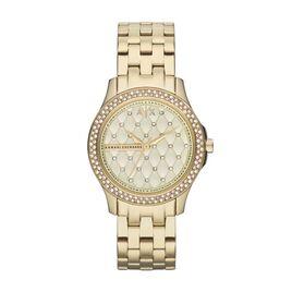 Montre Armani Exchange Lady Hampton Champagne - Montres Femme   Histoire d'Or