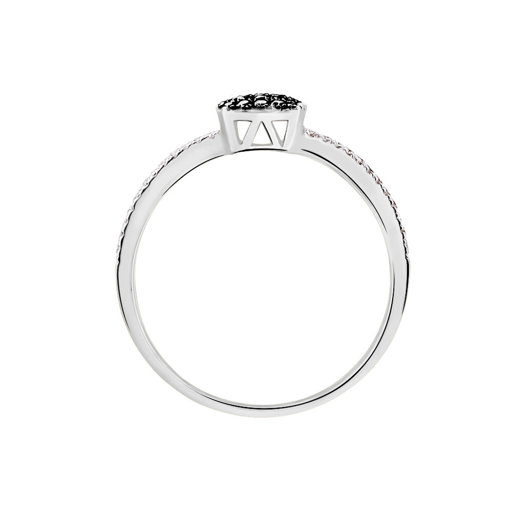 Bague Aude Or Blanc Diamant