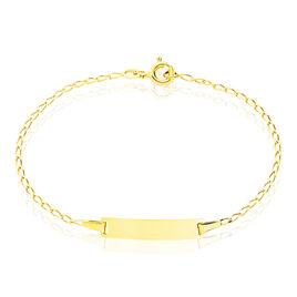 Bracelet Identite Bebe Or Jaune Estella - Bracelets Communion Enfant | Histoire d'Or