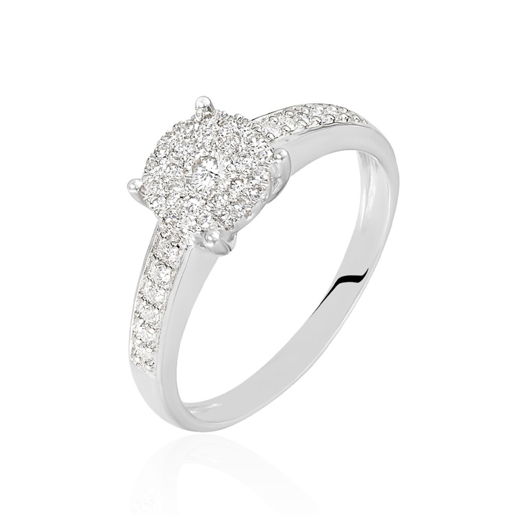 Bague Serena Or Blanc Diamant
