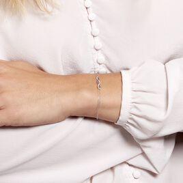 Bracelet Or Blanc Maury Saphirs Diamants - Bijoux Femme   Histoire d'Or