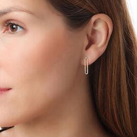 Boucles D'oreilles Puces Or Jaune Diamant - Clous d'oreilles Femme | Histoire d'Or
