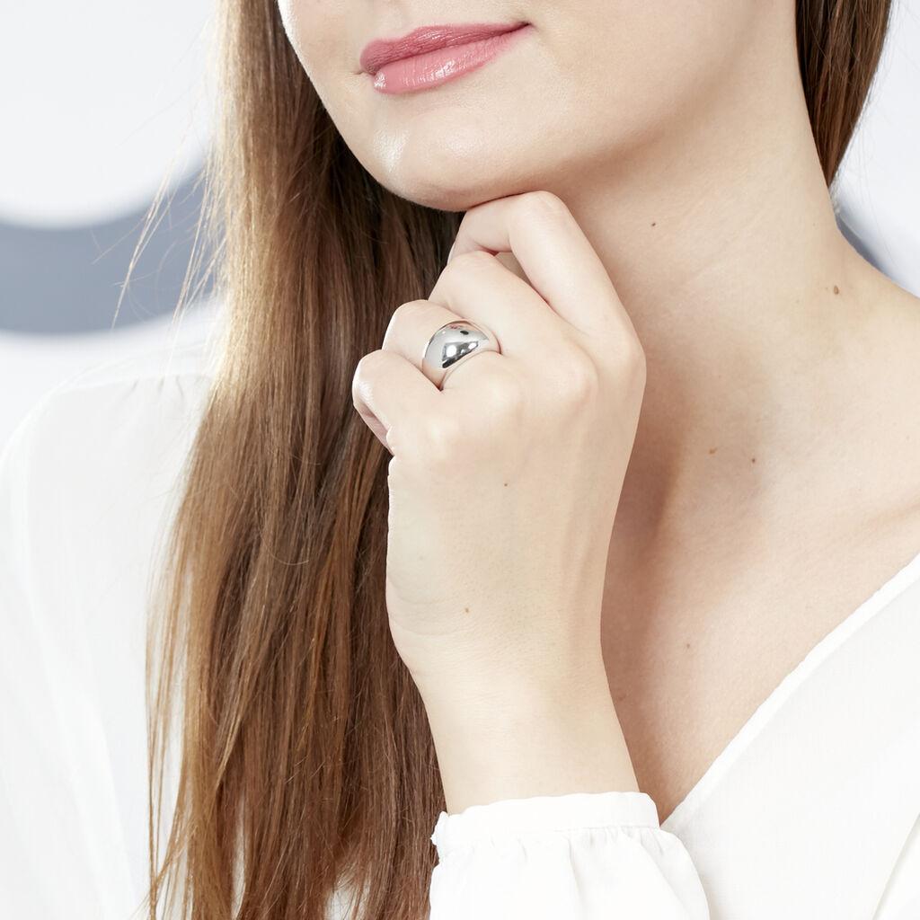 Bague Shaeya Argent Blanc - Bagues fantaisie Femme | Histoire d'Or