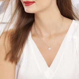 Collier Ysambre Argent Blanc Oxyde De Zirconium - Colliers fantaisie Femme | Histoire d'Or