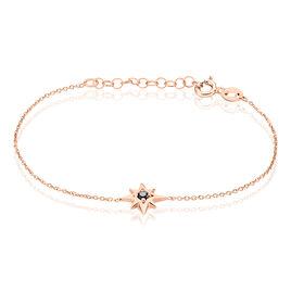 Bracelet Evora Argent Rose Oxyde De Zirconium - Bijoux Etoile Femme | Histoire d'Or