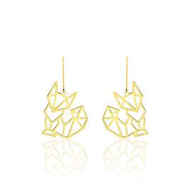 Boucles D'oreilles Pendantes Or Jaune - Boucles d'oreilles pendantes Femme   Histoire d'Or