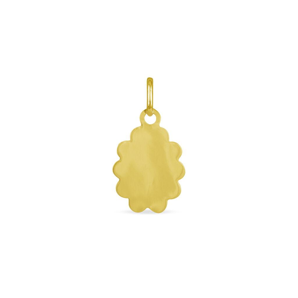 Pendentif Vierge Nuage Or Jaune - Bijoux Vierge Unisexe | Histoire d'Or