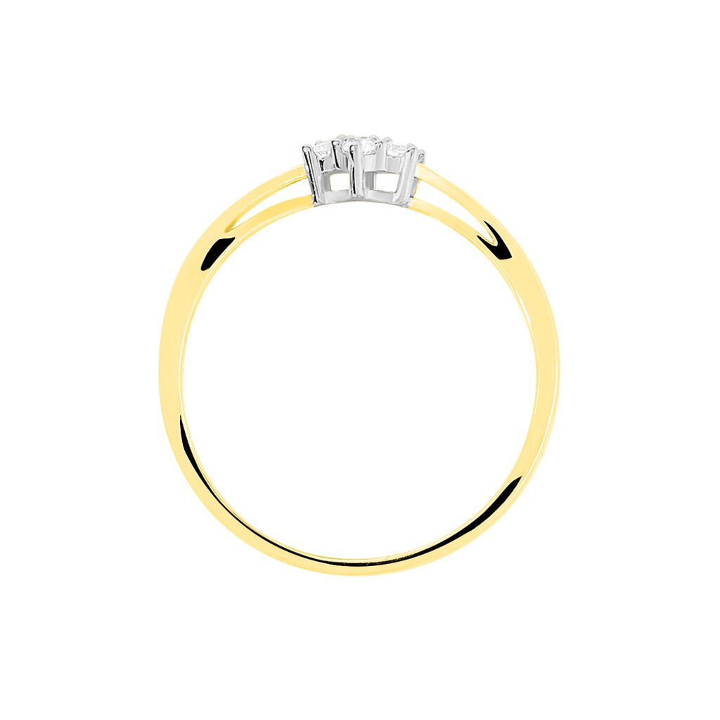 Bague Solitaire Cassiope Or Jaune Diamant - Bagues solitaires Femme | Histoire d'Or