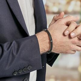 Bracelet Polo Acier Blanc - Bracelets fantaisie Homme | Histoire d'Or