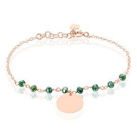 Bracelet Skurta Argent Rose Pierre De Synthese - Bracelets fantaisie Femme | Histoire d'Or