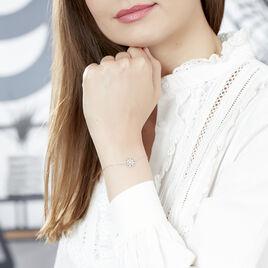 Bracelet Rozenn Or Blanc Diamant - Bijoux Femme | Histoire d'Or