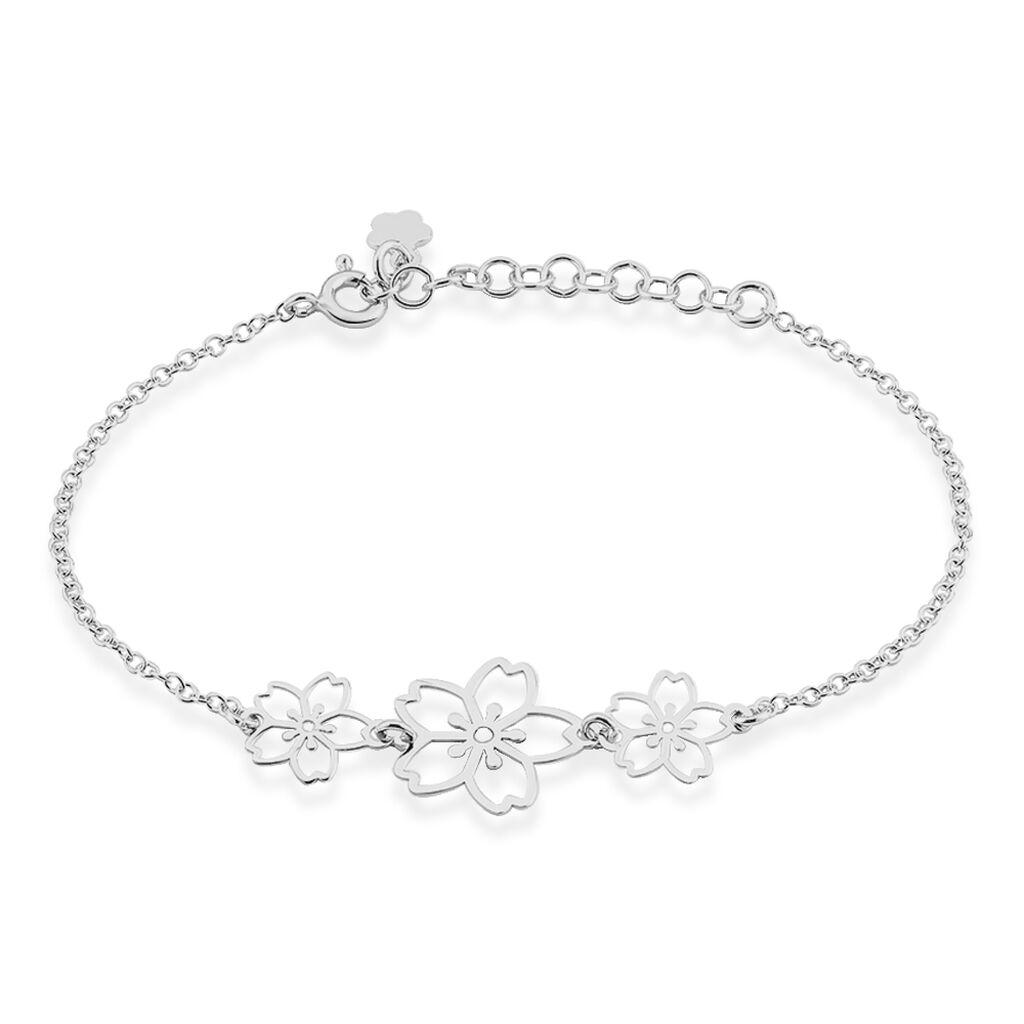 Bracelet Lucrezia Argent Blanc - Bracelets fantaisie Femme | Histoire d'Or