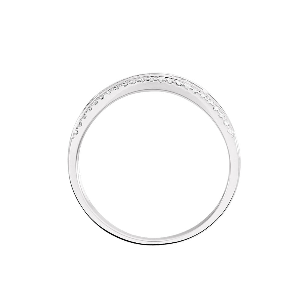 Bague Constance Or Blanc Diamant