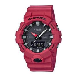 Montre Casio G-shock Black & Red Rouge - Montres classiques Homme   Histoire d'Or