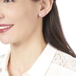 Boucles D'oreilles Puces Adelisa Or Jaune Diamant - Clous d'oreilles Femme | Histoire d'Or