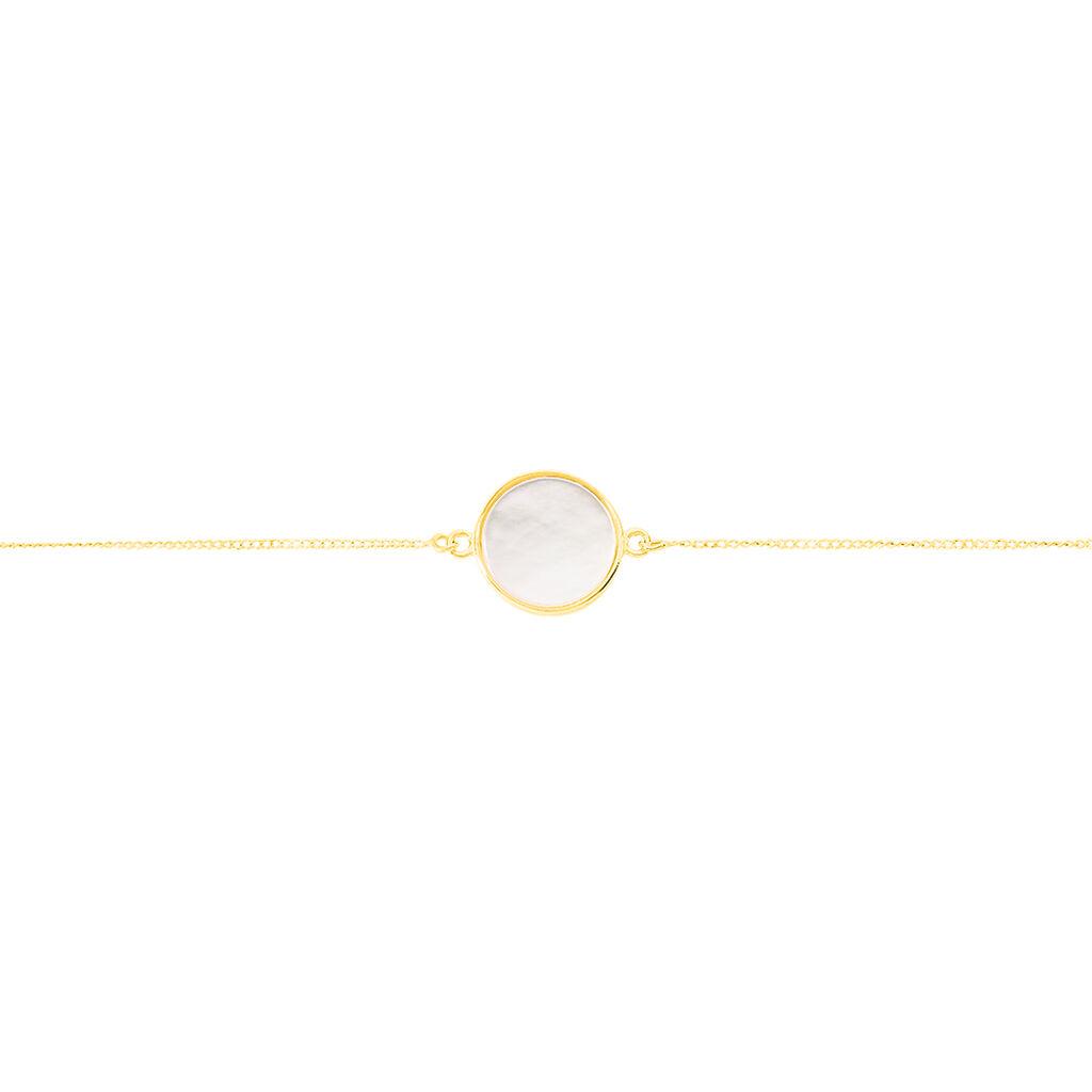 Bracelet Joana Or Jaune Nacre - Bijoux Femme   Histoire d'Or