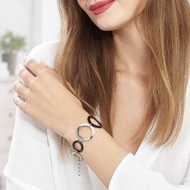 Bracelet Rimel Acier Blanc Céramique - Bracelets fantaisie Femme | Histoire d'Or